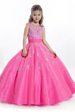 цены 2015 Fuchsia baby flower girl dresses for weddings Party prom dresses for little girls Children pageant dresses for girls glitz