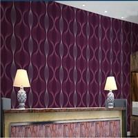 Free Shipping Colorful KTV Bar Ballroom Soundproof Wallpaper TV Background Wallpaper 3D Abstract Geometric Striped Wallpaper