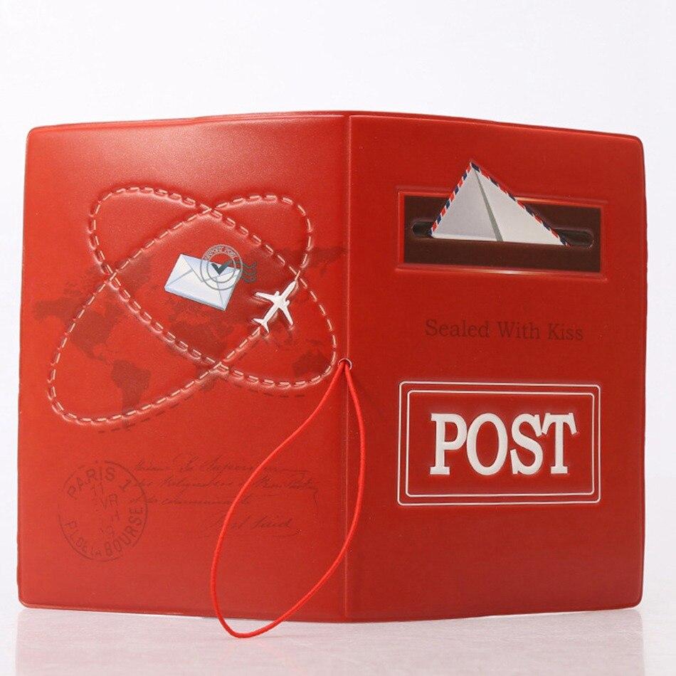 Туристические товары творческий конверт для паспорта Чехлы для мангала из искусственной кожи ID банковской карты модная сумка Для мужчин Дл...