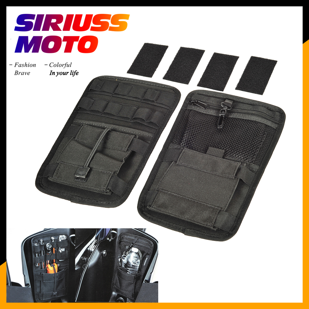 US $21 25 11% OFF Motorcycle Accessories Saddlebag Inner Toolkit Liners  Toolbags Case for Indian Chief Vintage Classic Dark Horse Honda GL1800-in