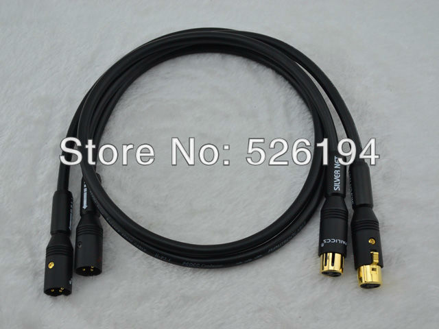 Free shipping pair Furutech alpha p2.1 pcocc Audio Interconnect Cable with Pailiccs XLR plugs free shipping pair furutech alpha p2 1 audio interconnect cable with silvrlink rca plug connector