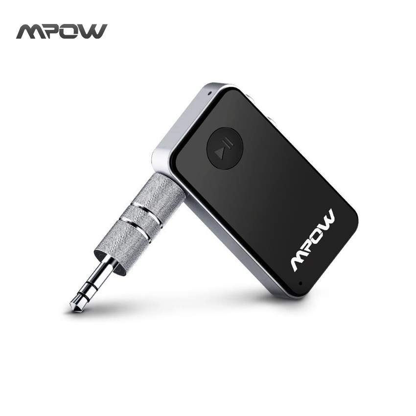 Mpow MBR1 Streambot Mini Hands Bluetooth Receiver Wireless Adapter Free Audio Car Styling 3 5mm Stereo