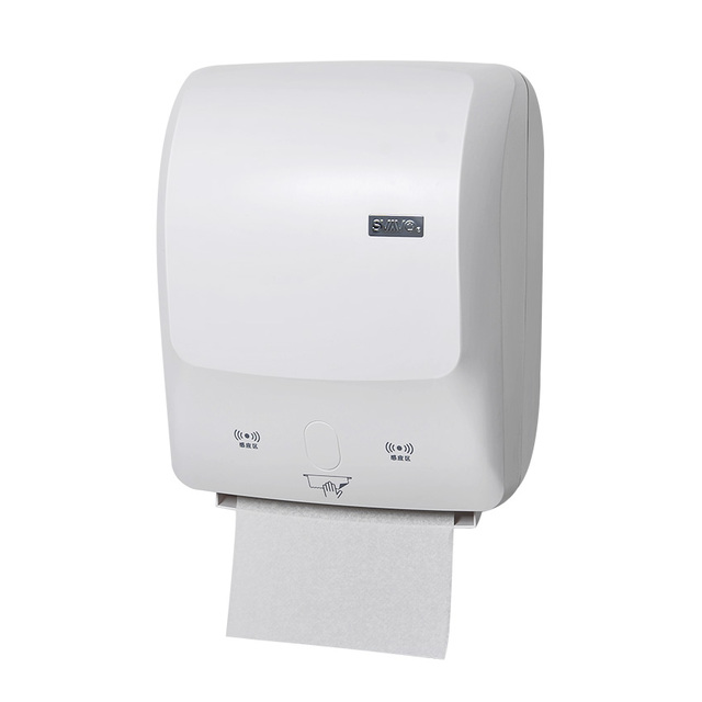 Svavo Wall Mounted New Abs Plastic Automatic Cut Sensor Paper Towel Dispenser Touch Free Tissue Paper Holder For Kitchen Paper Holders Aliexpress