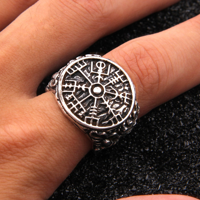 VIKING VEGVISIRI RING RUNE