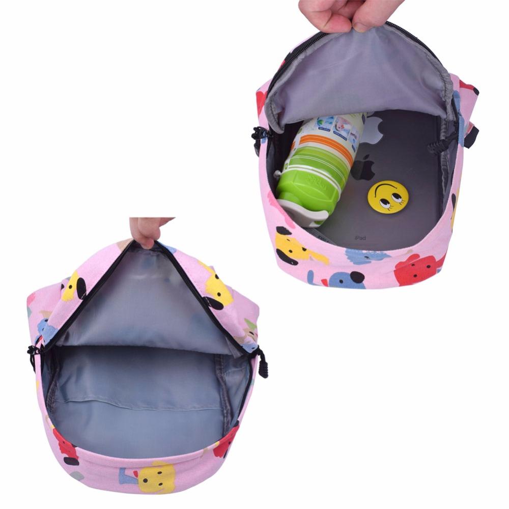 2138b4007a1b Klsyanyo Age 3 6 Kids Kindergarten Cute Canvas School kids Backpacks ...