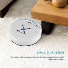 Robot Vacuum Cleaner USB Rechargeable Household Cleaning Mop the Floor