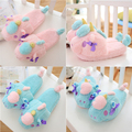 Unisex Adult Warm Winter Indoor Shark Slippers Women Plush Home Children Unicorn Slippers Unicornio Shoes Mens chausson licorne
