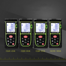 Big discount 40m/60m/80m/100m High Precision Laser Distance Measure Tool Infrared Digital Laser Range Finder Diastimeter High Accuracy