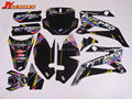 TTR110 spare parts 3M TTR110 GRAPHICS KIT decals Sticker for Dirt bike parts Pit Bike Parts TTR110 free shipping
