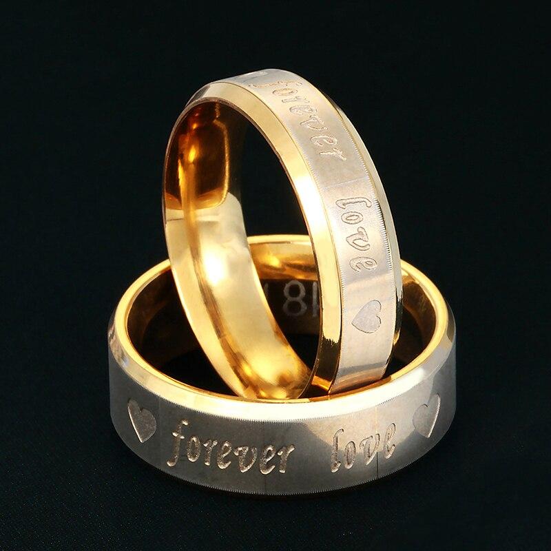 e73a99c6264e ₩Прямая продажа с фабрики Forever Love Нержавеющая сталь любви, пара ...