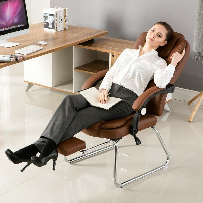 Computer home modern minimalist lazy back boss office casual study chair adult seat computer chair students study the study modern simple swivel chair office chair