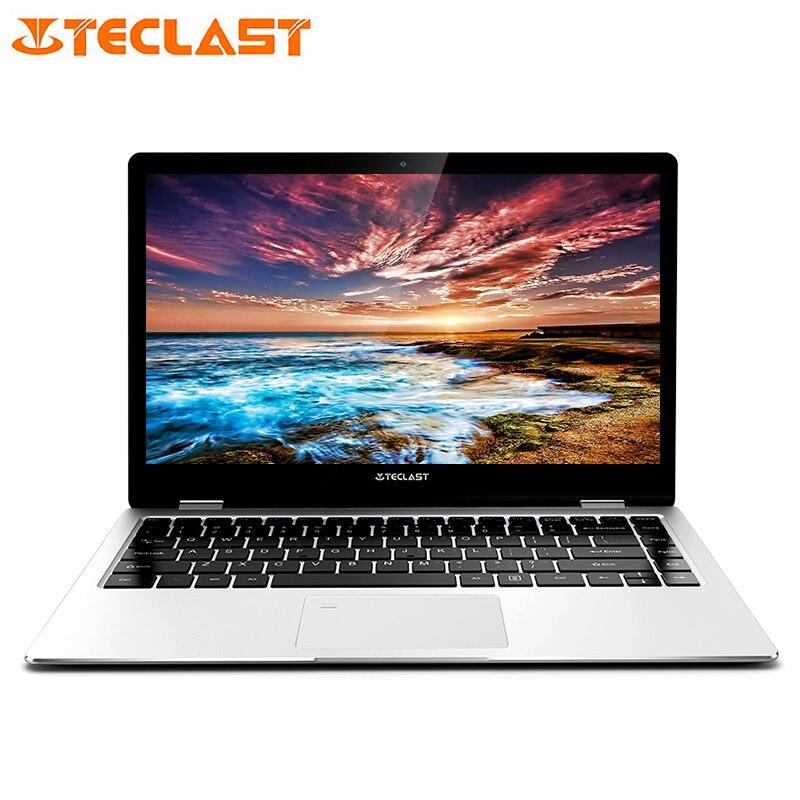 Teclast F6 Pro Notebook 13.3 Inch Windows 10 Intel HD Graphics 615 Dual Core 8GB RAM 128GB SSD FHD IPS WIFI Fingerprint laptops