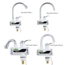 Durable GZU Instant Tankless Elektrische Warmwasserbereiter Küchenarmatur Kit Instant-heizung Leitungswasser Heizung mit Led-anzeige