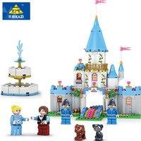 Kazi boże narodzenie prezenty zabawki dla dzieci kopciuszek księżniczka serii romantyczny zamek model budowlane cegły dziewczyna bloki cegieł zabawki