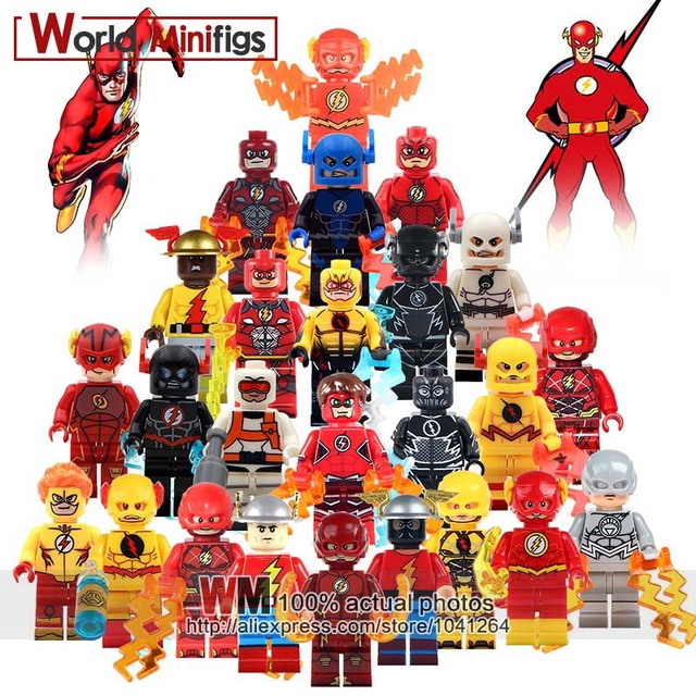 Single Sale DC Super Heroes The Flash Reverse Flash First Generation Action Figures Building Blocks Bricks Children Gifts Toys