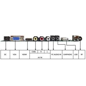 Image 2 - MOOL Tv+Hdmi+Vga+Av+Usb+Audio Tv Lcd Driver Board 15.4 Inch Lp154W01 B154Ew08 B154Ew01 Lp154Wx4 1280X800 Lcd Controller Board
