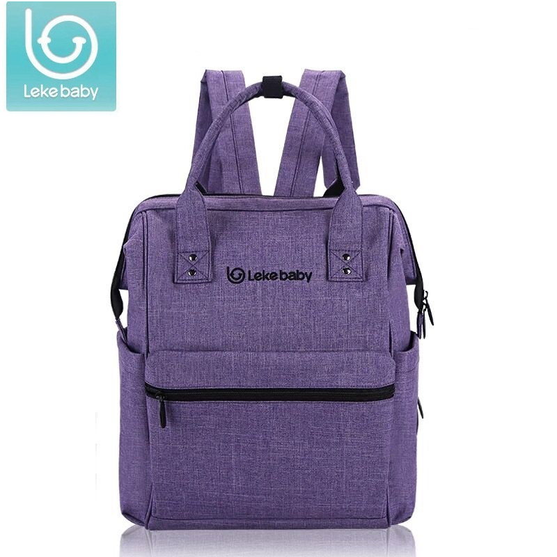 Lekebaby Nieuwe baby tas voor mama reisrugzak Grote luiertas Organizer Luiers Luierzakken Moederschap Tassen Moeder Baby Handtas