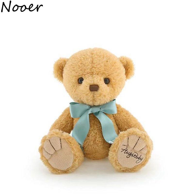 Nooer Kawaii Soft Teddy Bear Plush Toys For Children Teddy Bear Kids Doll For Girls Bay Appease Doll  Birthday Gift For Girl