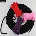 Sexo adulto Juego Productos Armadura Atar Cabos Paquetes de Algodón Sexo Erótico Bondage cuerda Larga 5 M BDSM Roleplay Sex Toy Kit Suave Y seguro