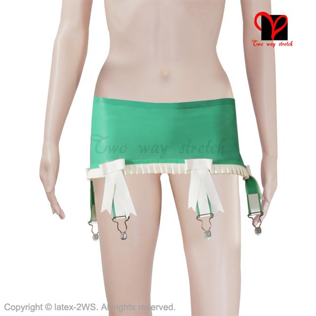 Latex Garters Rubber suspender Belt girdle Skirt straps