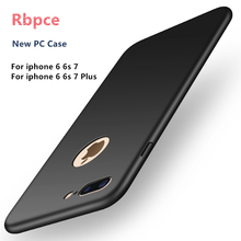 New High Hot 2017 quality hard PC case for iPhone 6 6S Plus 7 7 Plus Ultra-thin Luxury Back cover Protective case + Free HD film
