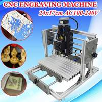 DIY Mini 3 Axis CNC Engraving Milling Machine Assembly Kit USB Desktop Metal Engraver PCB Milling