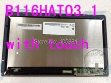 Neue Original B116HAT03.1 tablet laptop für Acer ASPIRE W700 touch mit bildschirm