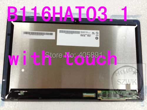 Nueva Original B116HAT03.1 tablet W700 touch con pantalla del ordenador portátil para Acer ASPIRE