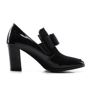 Image 3 - FITWEE rozmiar 33 43 damskie buty na wysokim obcasie buty ze skóry naturalnej Bowknot Dropshipping botki buty wiosenne jesienne buty damskie