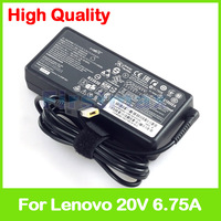 Slim 20V 6.75A laptop charger ac power adapter for Lenovo IdeaPad 700 15ISK 700 17ISK 36200314 36200318 36200319 ADP 135ZB BC
