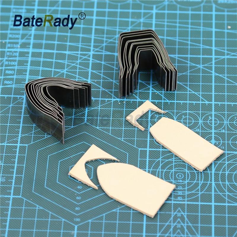 Strong-Willed Baterady Diy Handwork Leather Belt V Shape Punch Cutter,square Leather End Cutter,japan Steel Leather Fillet 10pcs 15-40mm Knives
