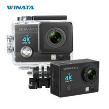 WINATA 4 K MP WiFi Wodoodporna Sport Kask Action Camera Cam 170 Ultra Szeroki Kąt Obiektywu Pod Wodą i Ootdoor Narty kamera