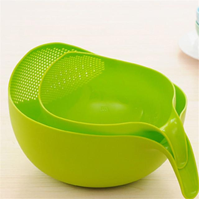 Multi-Purpose sieve for washing Rice, Vegetable Washing, Fruits etc