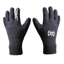 Black Unisex HobbyLane SLINX 3mm Diving Swimming Gloves Non-slip Wear Resistant Cold Warm Hand Protection Gloves S To XL Code цена