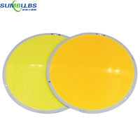 50W 200W Ultra Bright Warm Pure White Round LED COB Lamp Chip On Board DC 12V
