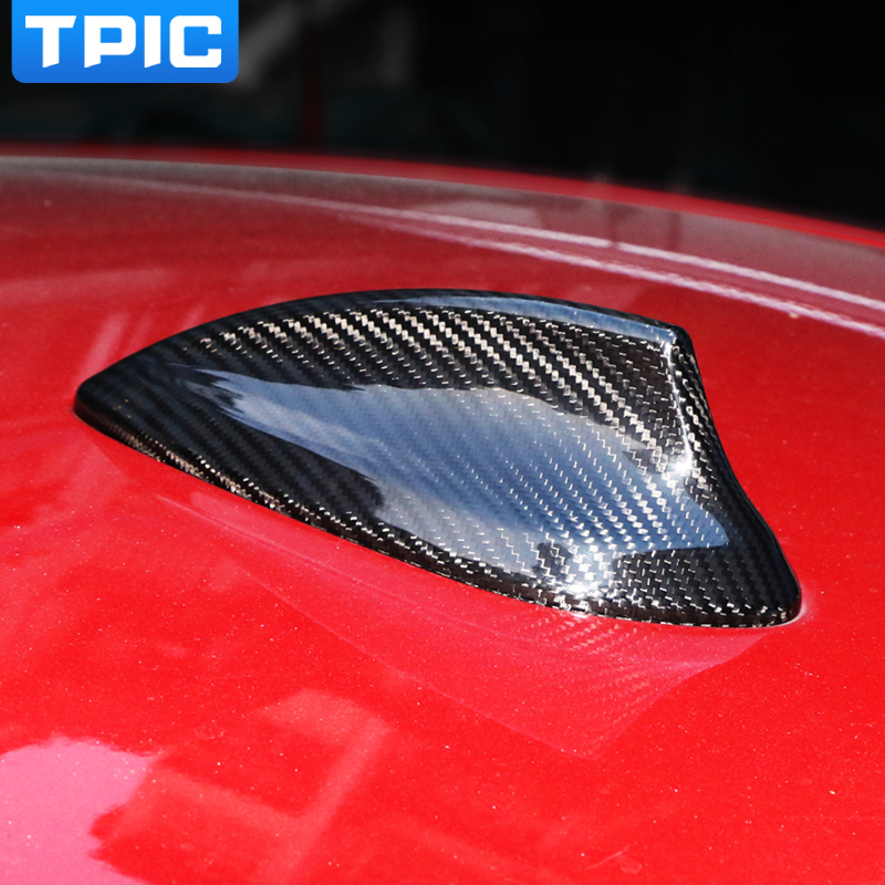 Carbon Fiber Car Roof Shark Fin Antenna Cover Trim For BMW E46 E90 E92 F20 F30