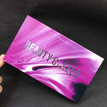 18 Color Natural Shimmer Matte Eye Shadow Makeup Burgundy Eyeshadow Palette