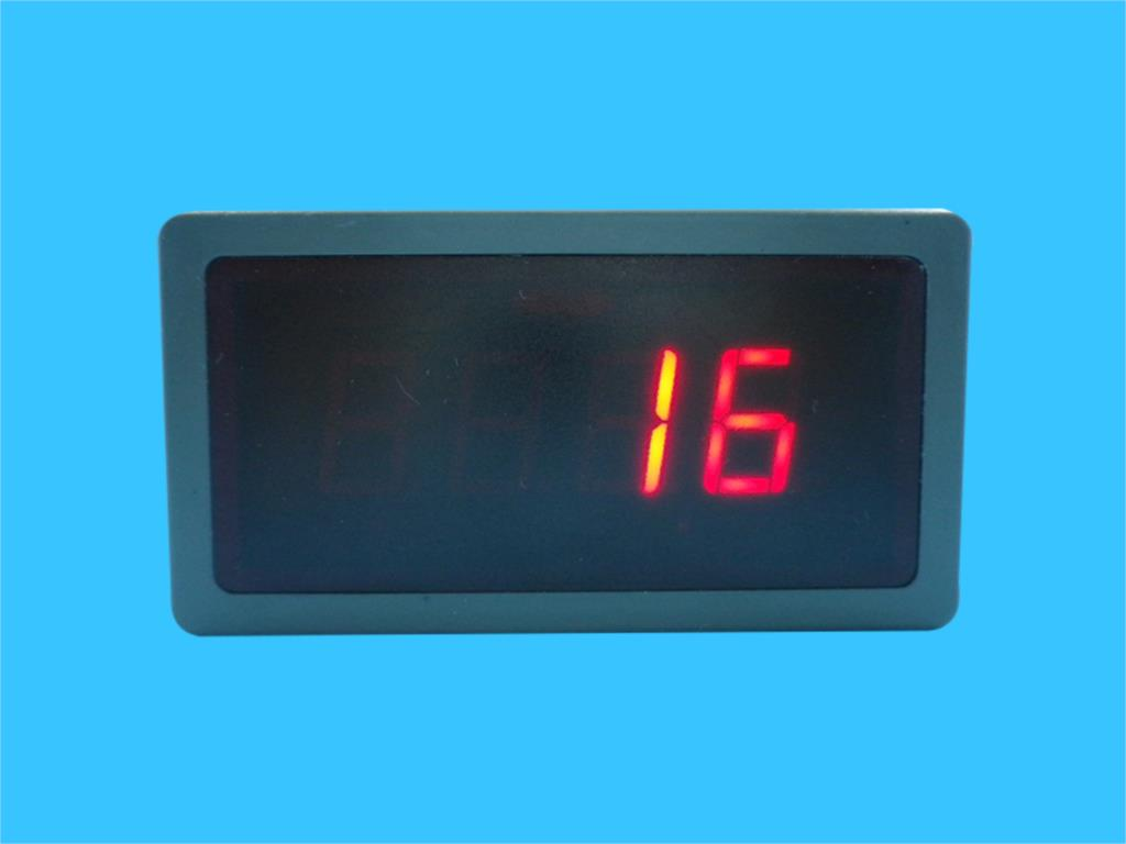 Digital Temperature Meter Gauge LED Display for K,PT100,J Universal Type Thermocouple EGT Probe Celsius Fahrenheit Red DC 5-12V 0 56 red blue dual display digital led thermometer temperature meter waterproof metal probe sensor module 20 100 celsius