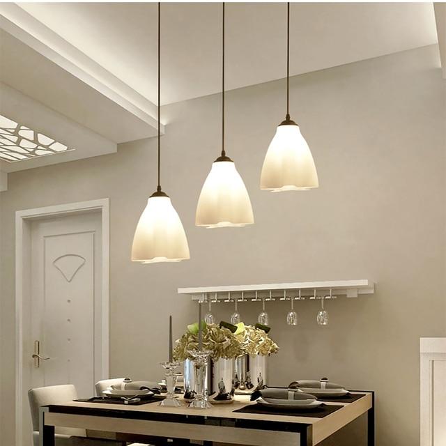 Moderno Semplice LED Tre teste Lampadari Creativi Lampade da ...