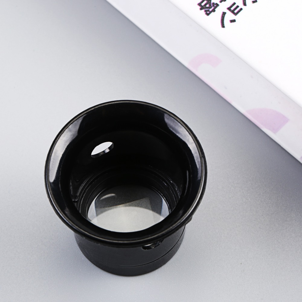 Glasses magnifier 1pc Portable 10X Monocular magnifying glass glasses Loupe Lens Jeweler Tool Eye Magnifier