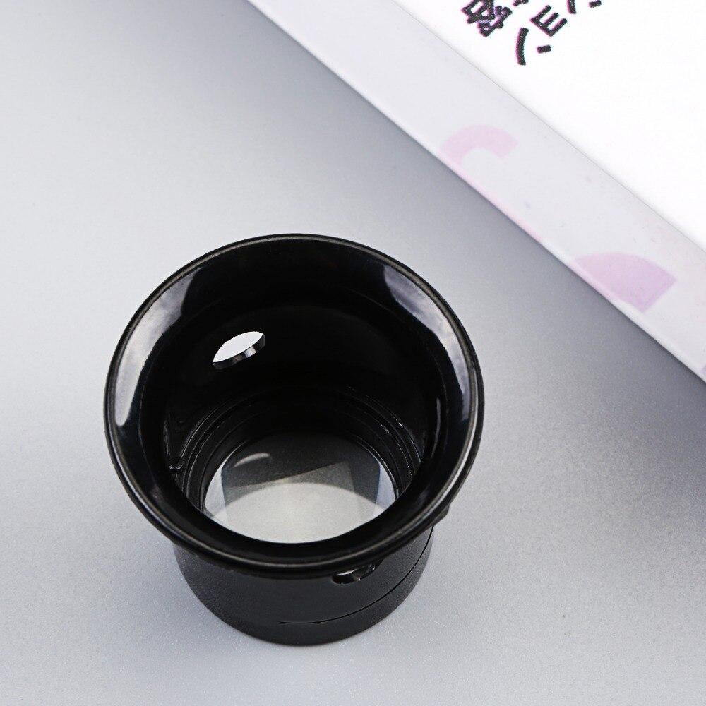 Glasses magnifier 1pc Portable 10X Monocular magnifying glass glasses Loupe Lens Jeweler Tool Eye Magnifier deer print pocket front pajama set