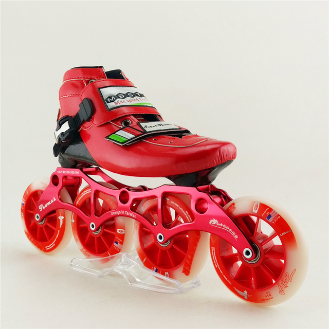 Cheap Professional Men/Women Speed Roller Inline Skates Speed Skating Roller Skates 4 Inline Wheels