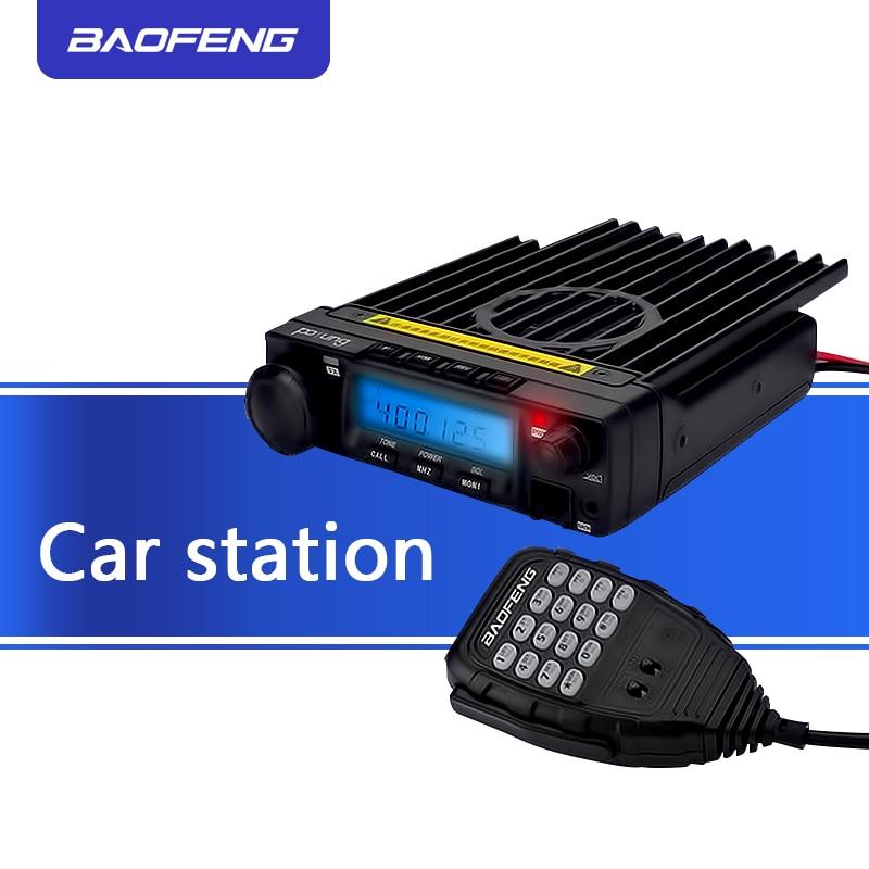 100% D'origine BAOFENG BF-9500 200 Canaux Voiture Talkie Walkie 50 KM autoradio 50 W 400-470 MHZ 50 W /25 W/10 W Voiture Émetteur