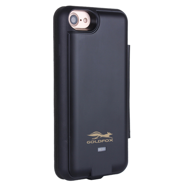 new style 447cf 77adf US $17.99 45% OFF|GOLDFOX 3000/5000mah Solar Power Battery Charger Case For  iPhone 6/6s/7 Power Bank Case Cover For iphone 6 Plus/6s Plus/7 Plus-in ...