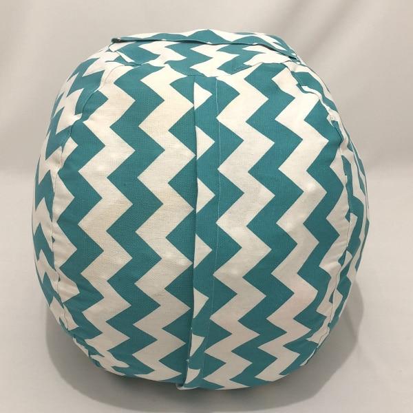 7 цветов набивная коробка животные Кресло-мешок, фасоль | Премиум детское плюшевое решение для хранения игрушек | доступно в 6 моделях - Цвет: Lake blue 24 inches