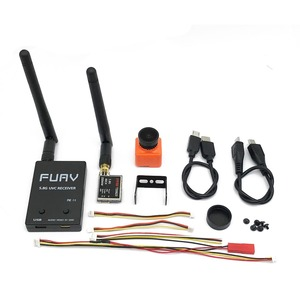 Image 2 - Ready to use 5.8G FPV Receiver UVC Video Downlink OTG VR Android Phone+5.8G 200/600mw Transmitter TS5823+CMOS 1200TVL Camera fpv