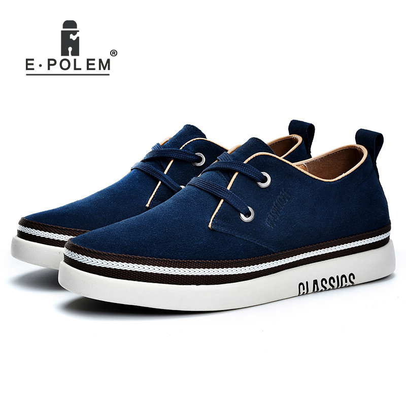 Genuine Suede Leather Skate Shoes Men Casual Shoes Invisibility 6cm Height Increases Male Lace-Up Winter Velvet Shoes vik max white genuine leather hot sale figure skate shoes lace up ice figure skate shoes