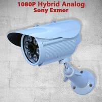 1080P Sony CMOS Hybrid CCTV TVI AHD CVI 960H Analog Home Secu Video Camera IR Water