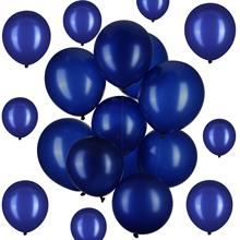 METABLE 100 Pack 12 or 10 Inch Latex Party Balloons navy blue for Weddings,birthday Party, Bridal Shower