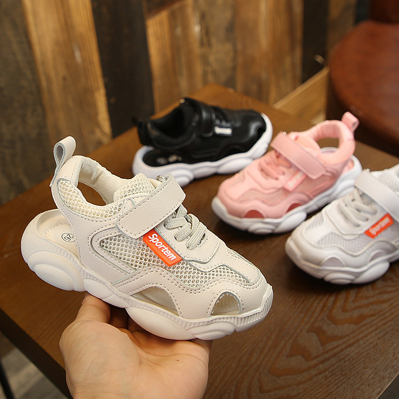 2019 Summer New Children Casual Shoes Baby Girls Boys Breathable Mesh Shoes Infant Toddler Slip-On Kids Sandals